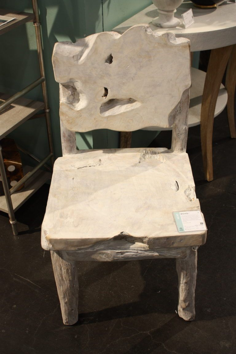 Made Goods driftwood chair