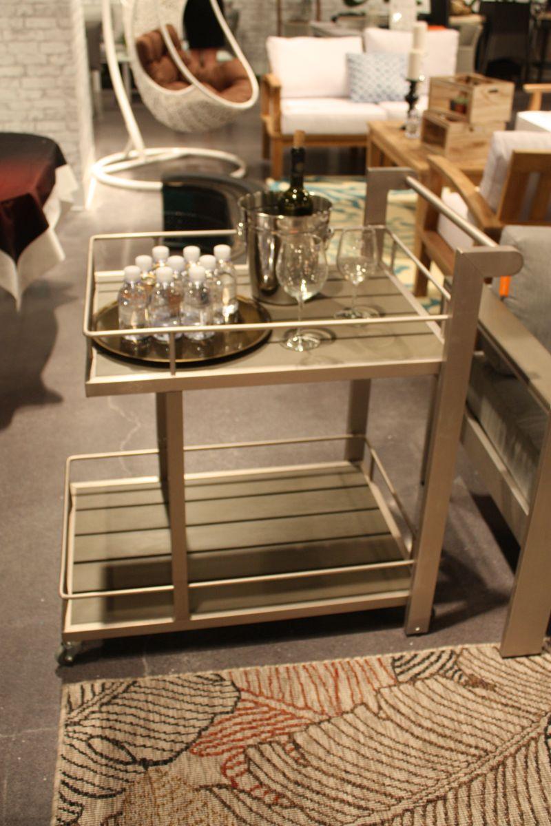metallic-bar-cart-design