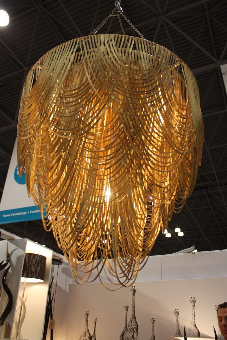 Ngala leather chandelier