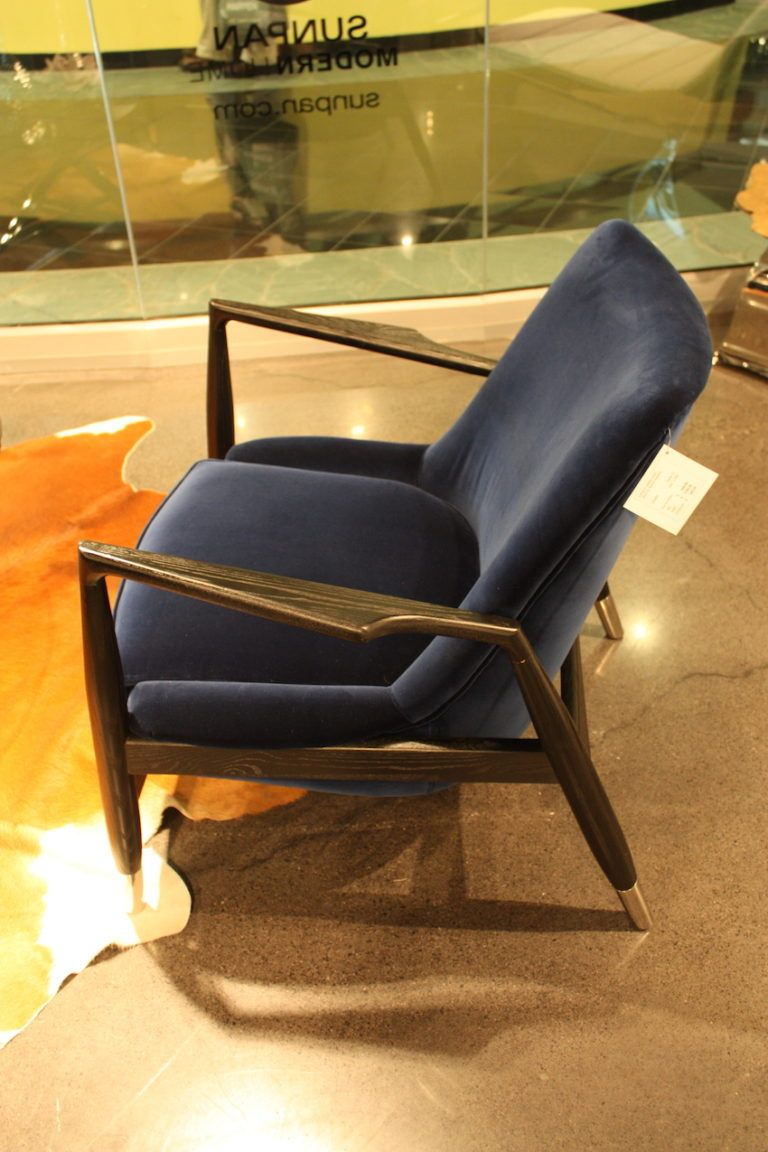 sunpan-velvet-slanted-armchair