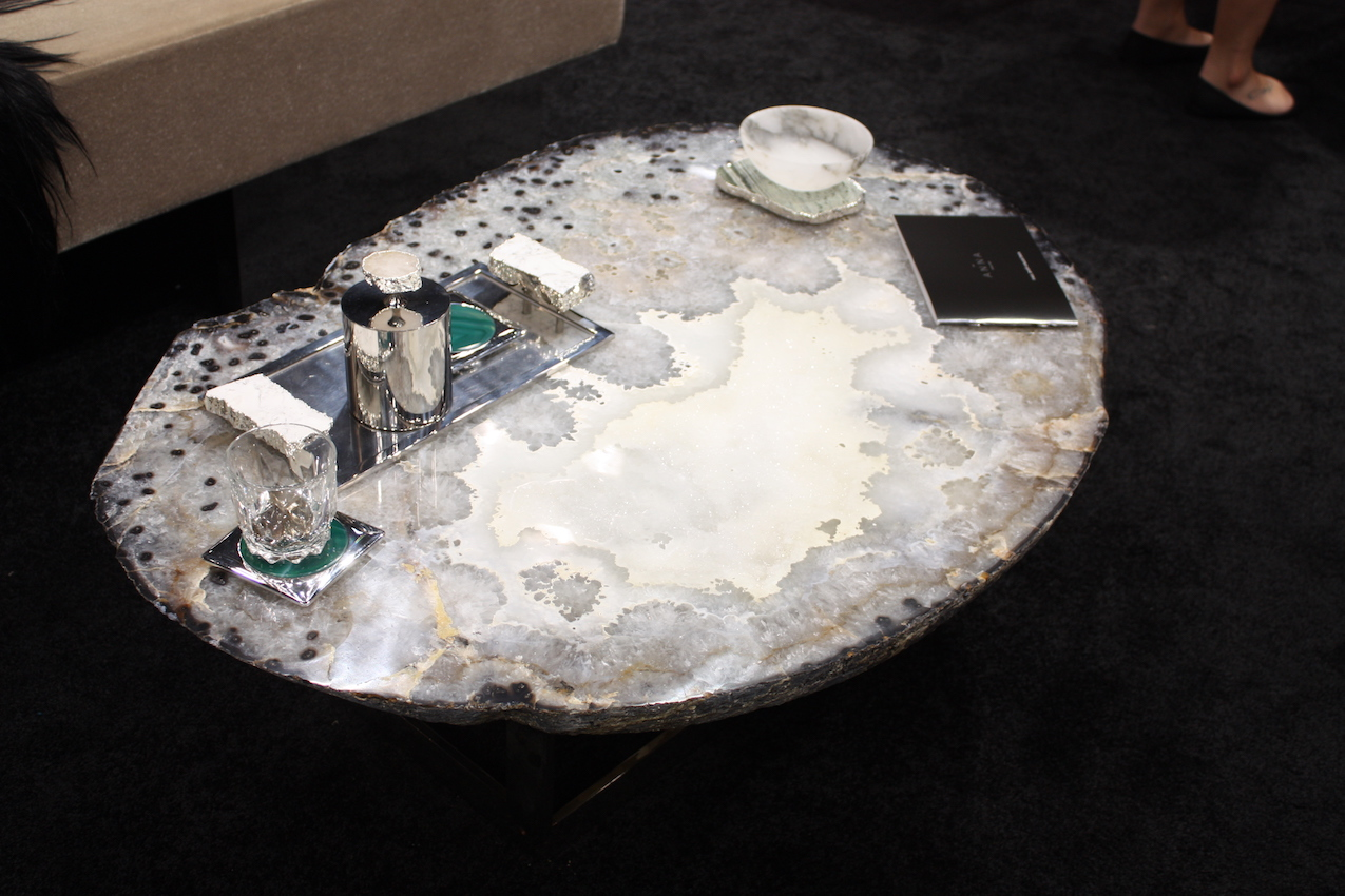 Gemstone Furniture Accents Reveal A World Of Luxury