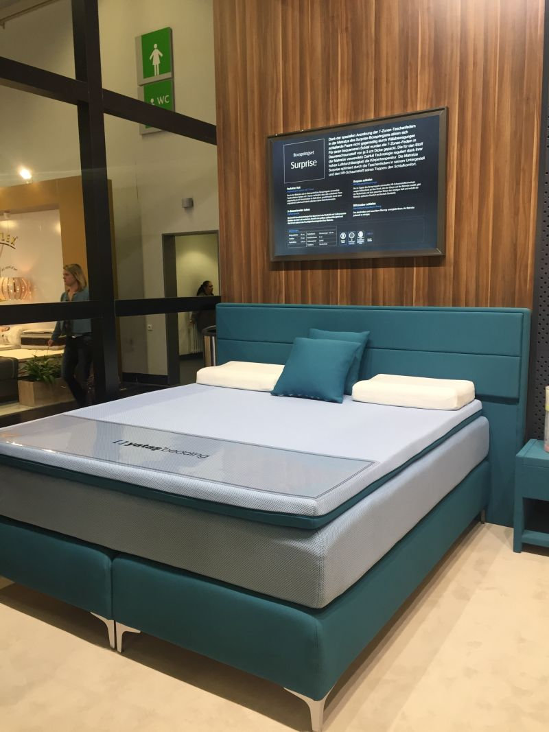 Blue Green Bed Design