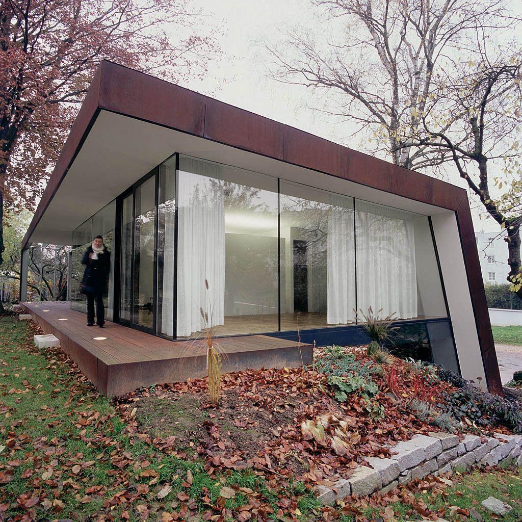 Corten house by x Architekten in Linz