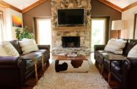 How To Use A Cowhide Ottoman To Create A Cowboy-Chic Decor