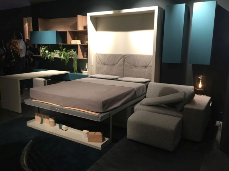Murphy Bed  Living Room Space Saving System  Home Decorating Trends  Homedit