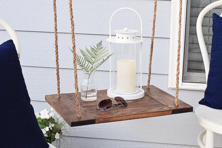 Hanging Shelf Table