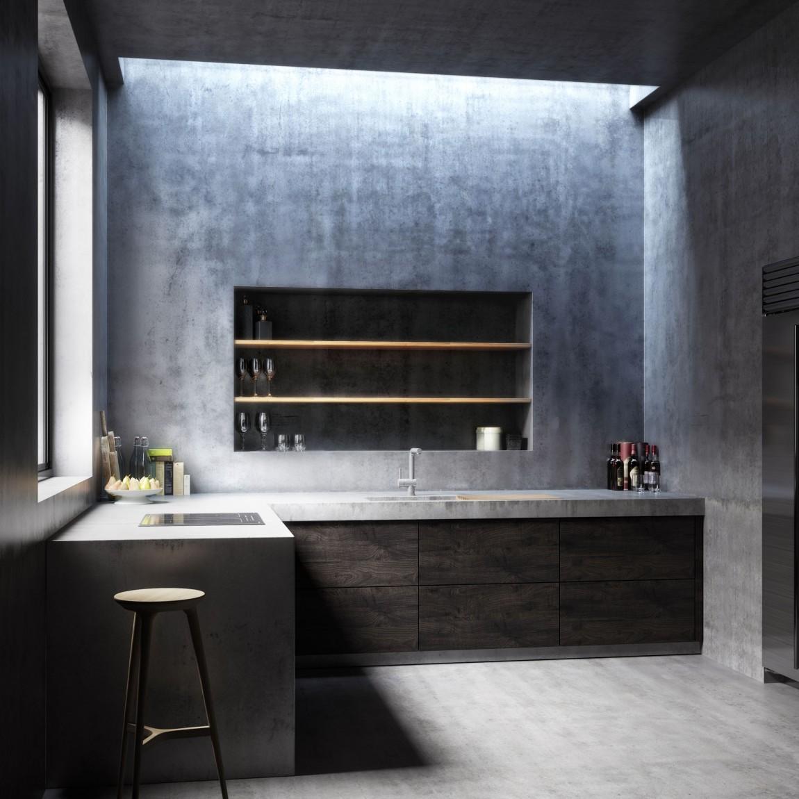 Modern kitchen design from Concrete