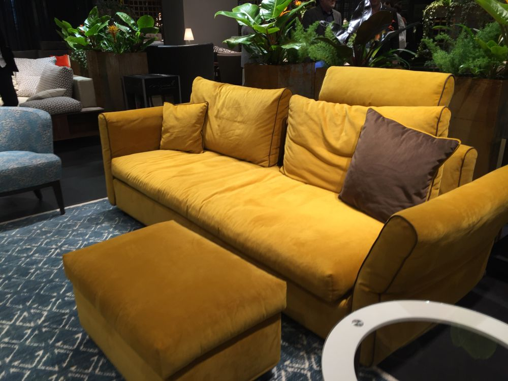 Mustard Yellow Living Room Chair
