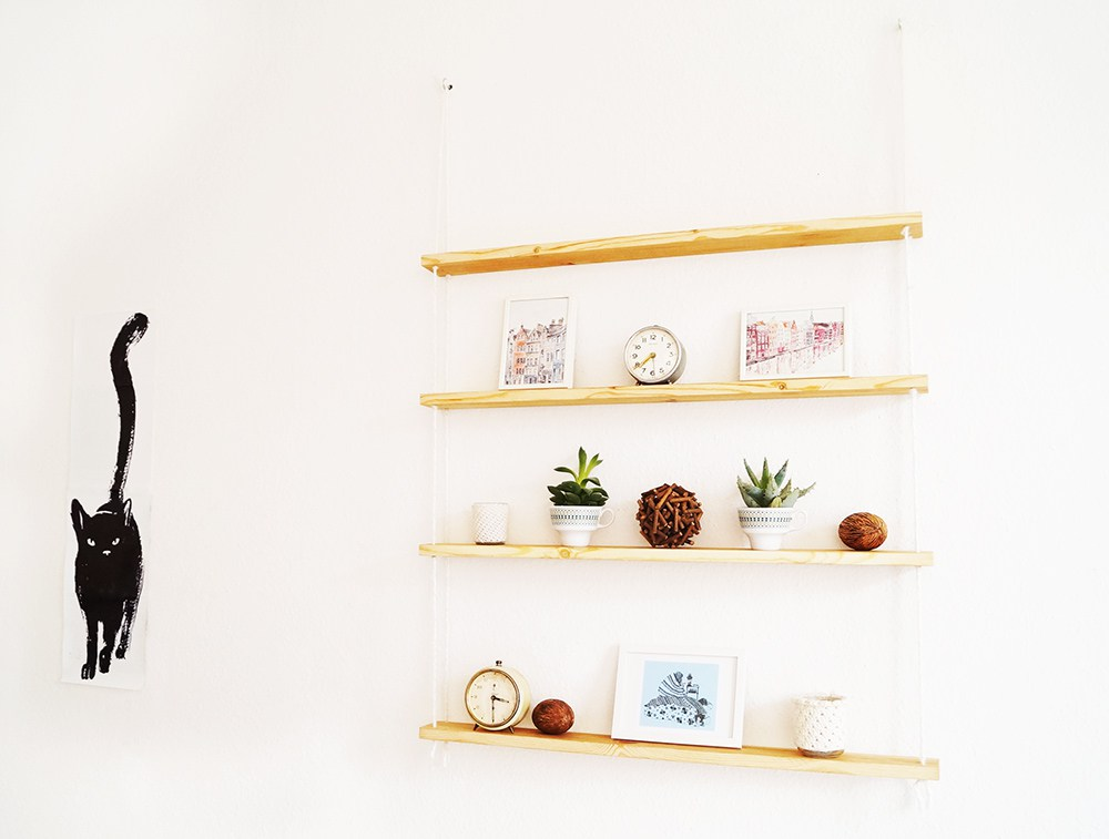 hanging rope chair target green obsessed with shelves - simple diy ideas you'll love