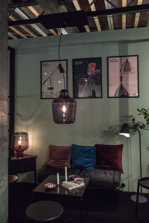 Say my name pendant glass blown lighting fixture