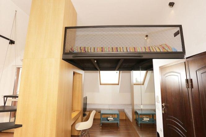 Sofia Studio With Loft Bed