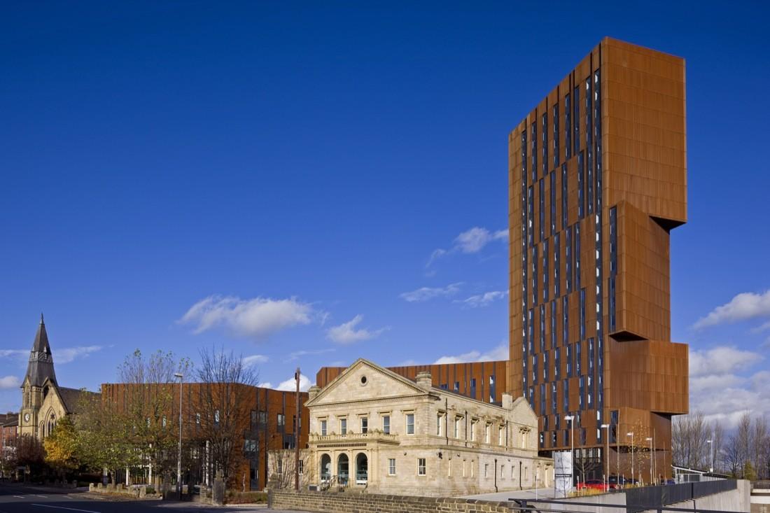 UK Building from Corten
