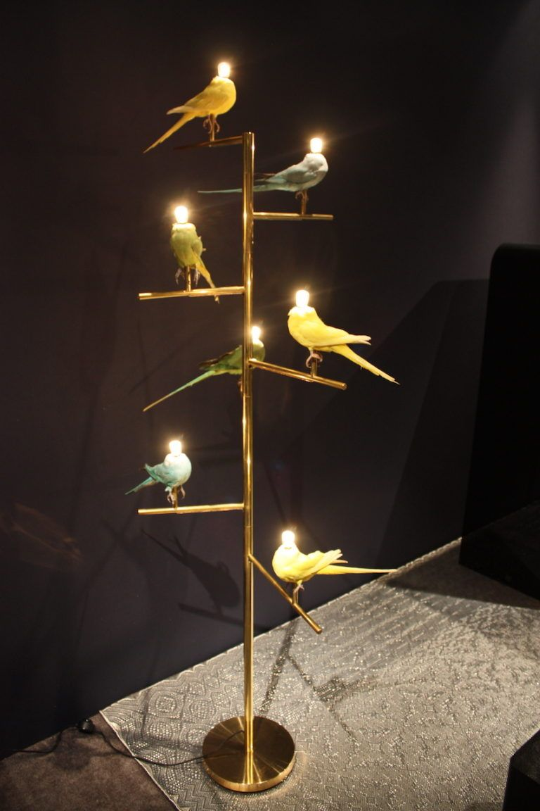 Christina Grajales Bird Lamp