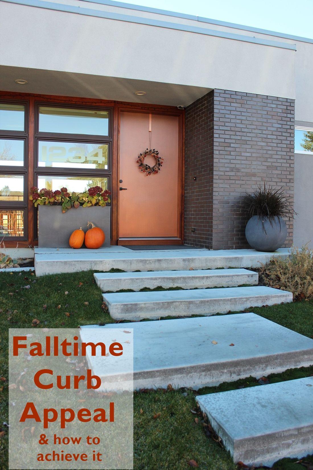 Curb Appeal house Facade