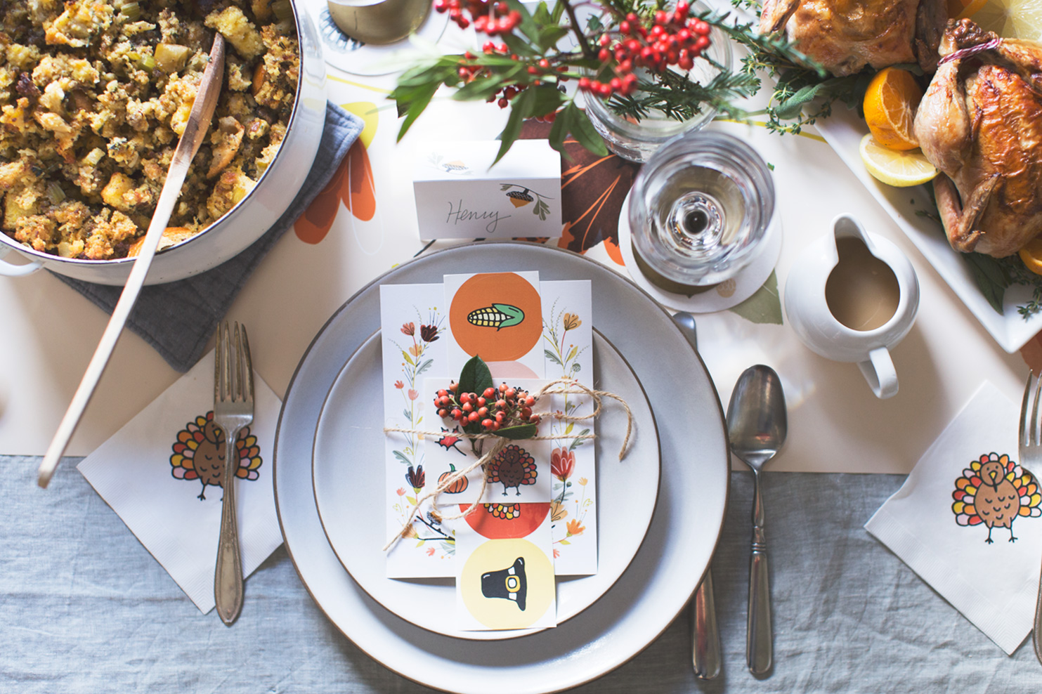 Cute and beautiful crafts for Thanksgiving Table