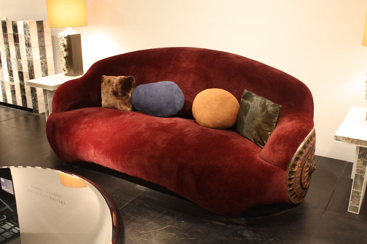 Full and lovely, the Shield sofa is very inviting.