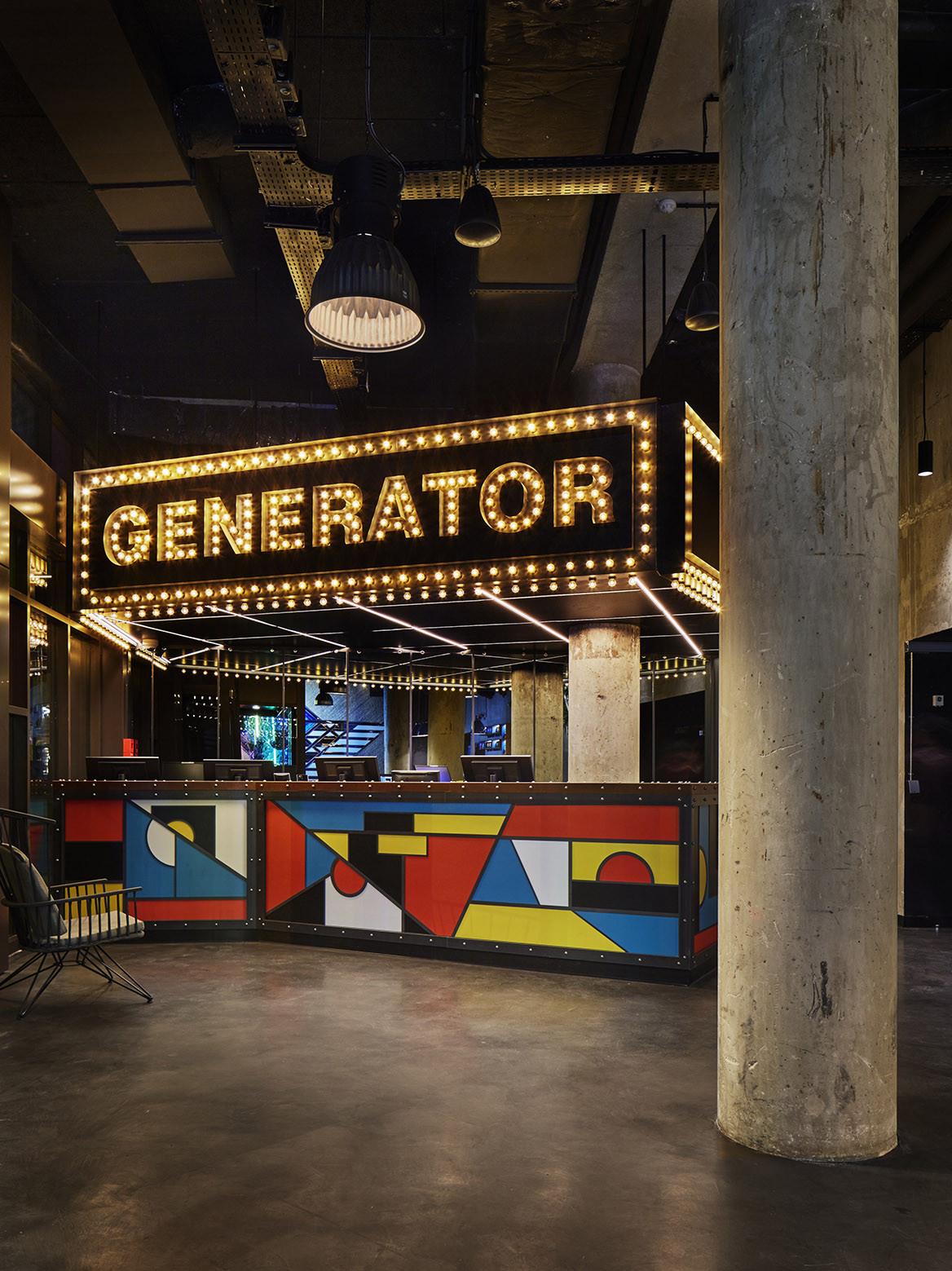 Generator by DesignAgency