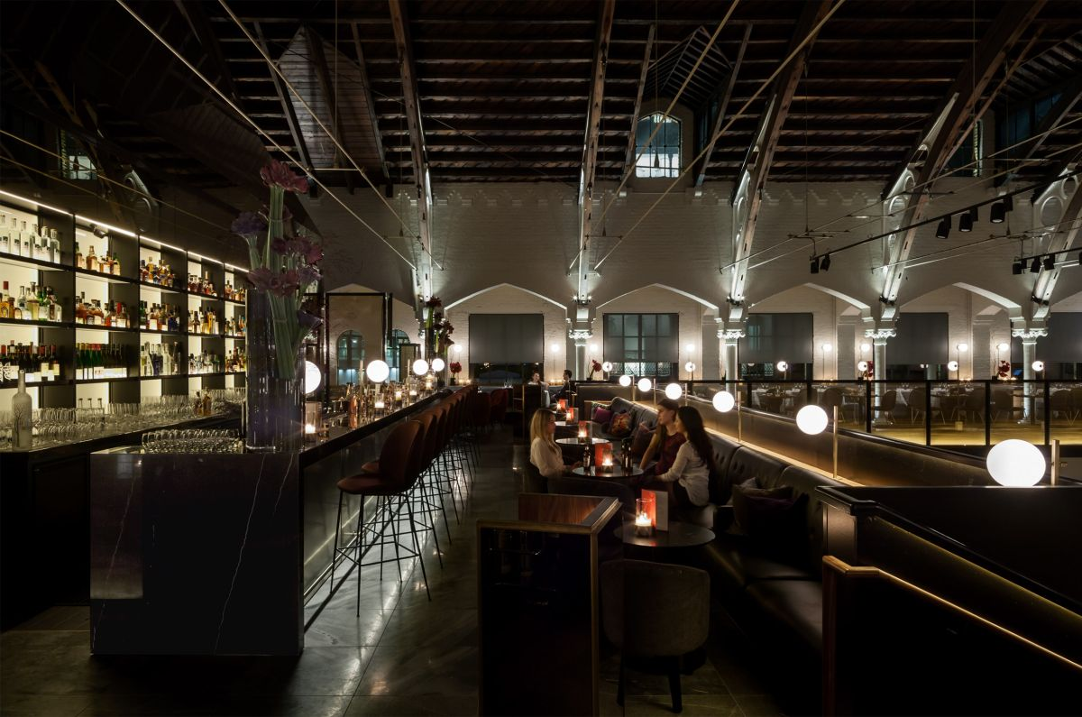 German Gymnasium by Conran & Partners – best UK restaurant