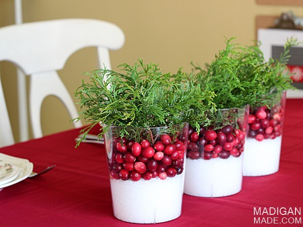 Green centerpiece ideas