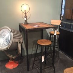 Tall Kitchen Tables Wall Cabinet Sizes For Cabinets How To Select A Table That Perfectly Completes Your Home Industrial Style