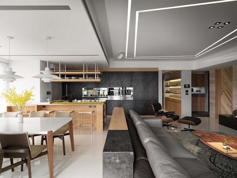 Jade apartment kitchen area