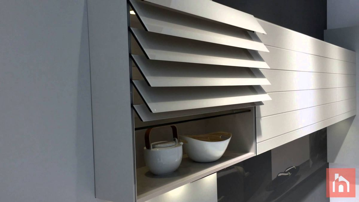folding chair rack diy modern wingback chairs the door trend now applied to kitchen cabinets - home decorating trends homedit
