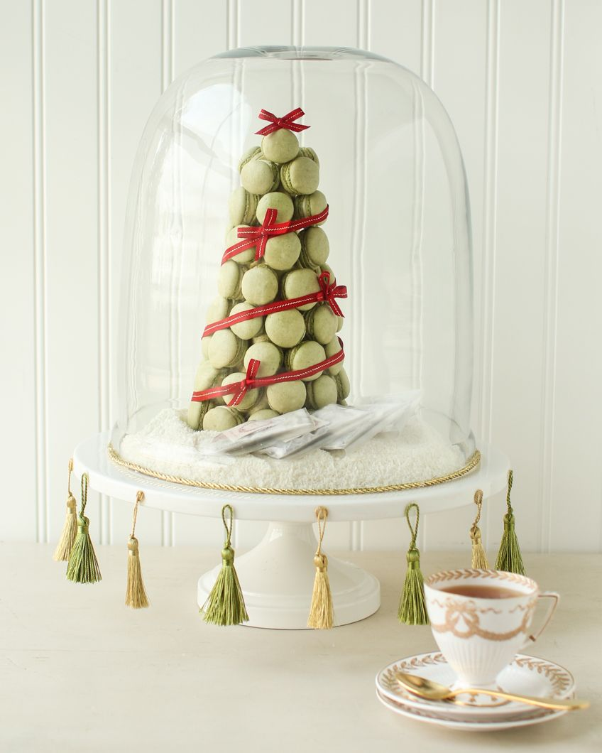 Macarons Christmas Tree