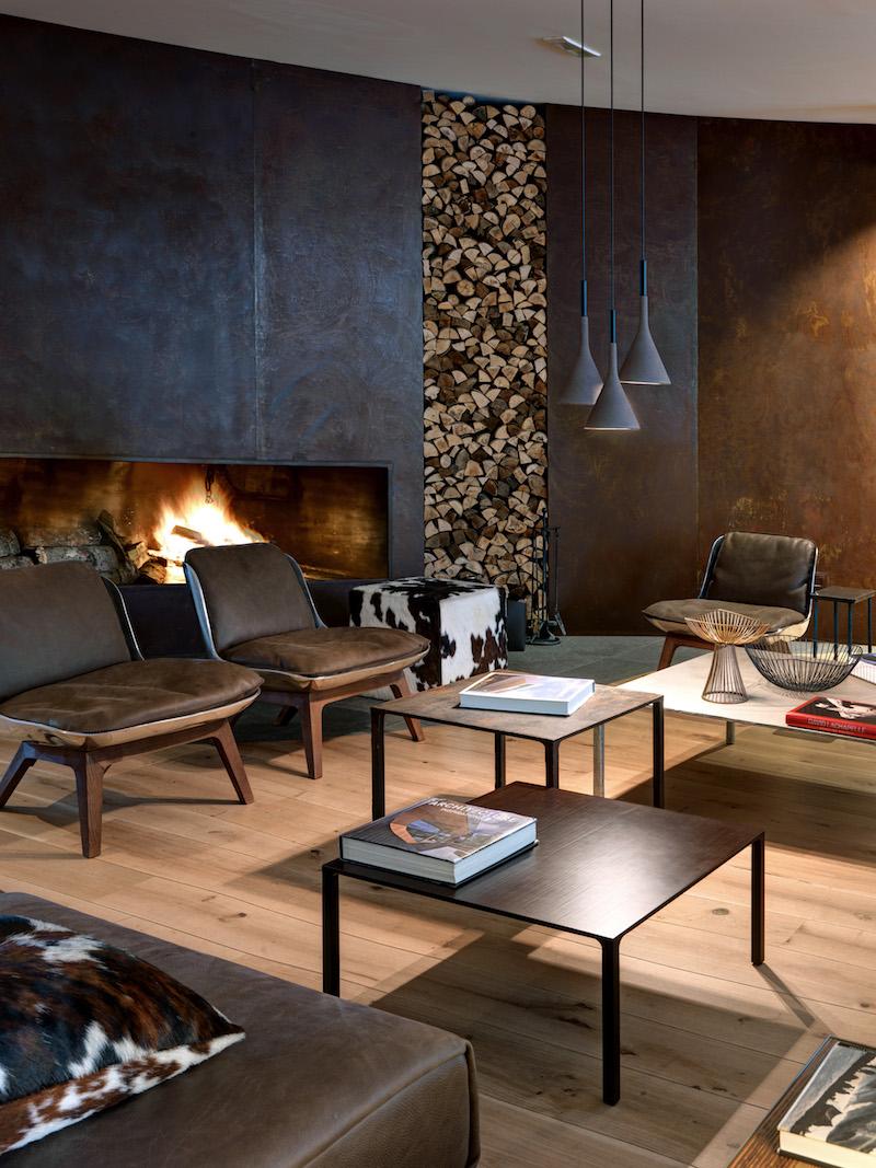 Nira Montana hotel firewood niche
