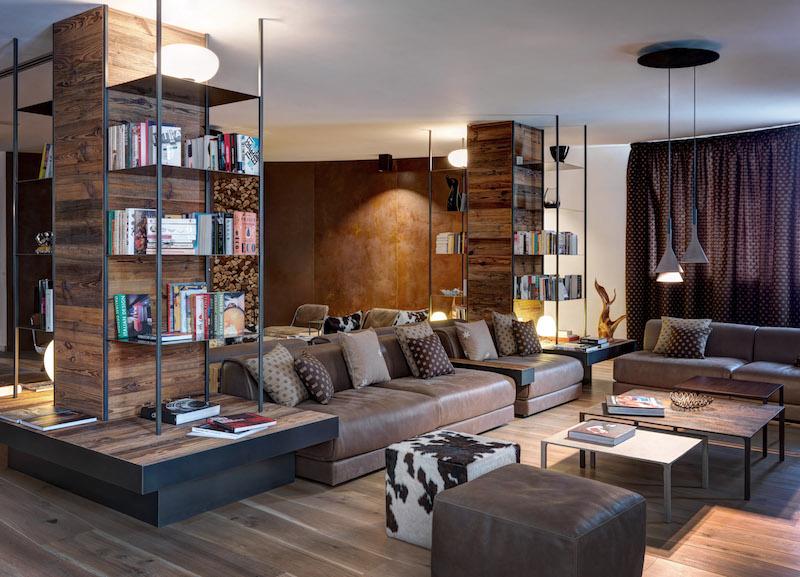 Nira Montana hotel leather sofas