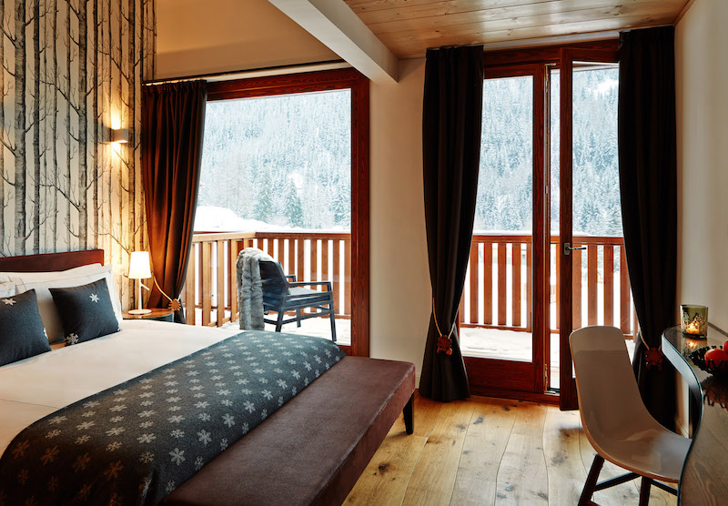 Nira Montana hotel room with balcony