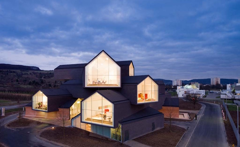The original VitraHaus building in Germany
