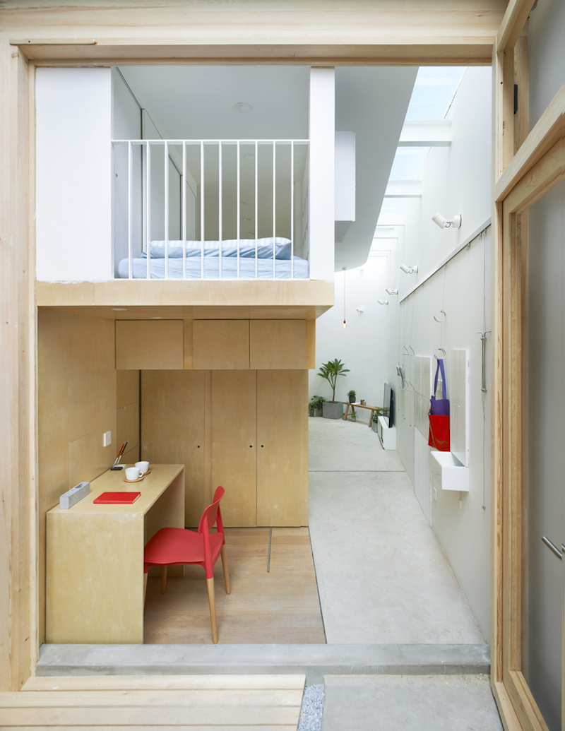Tiny house in Dongcheng loft bedroom