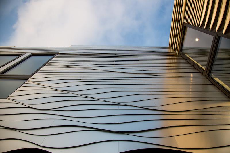 Wave House facade panels