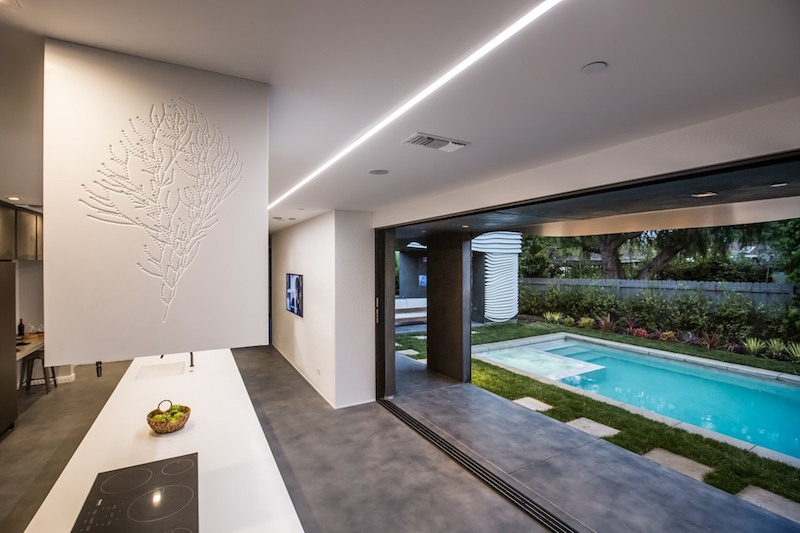 Wave House indoor outdoor transition