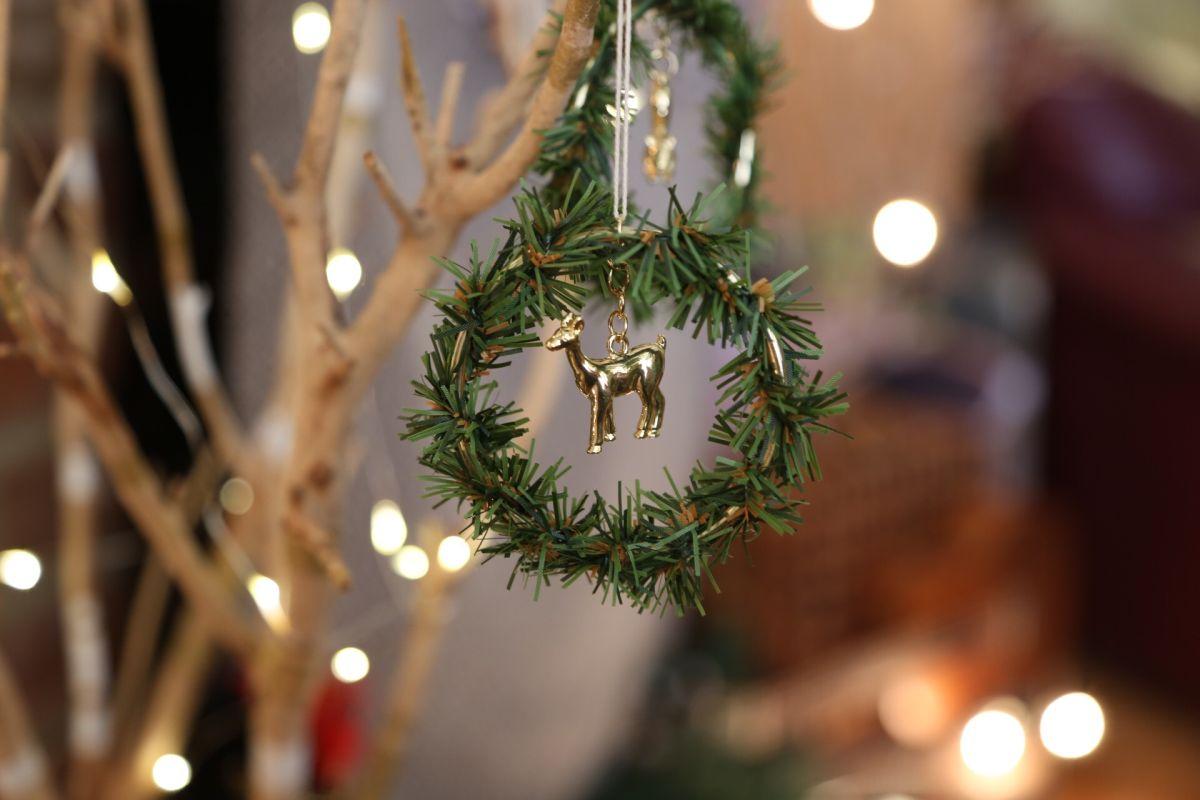 Wreath Tree Ornament