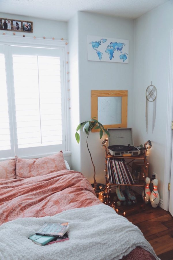 Small Bedroom Ideas Bohemian Decorating - Year of Clean Water on