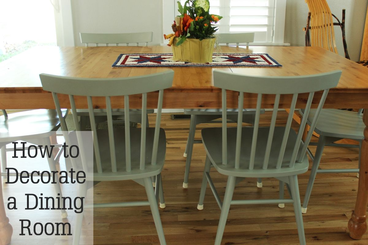 How To Decorate A Dining Room To Be Better Than Comfort Food