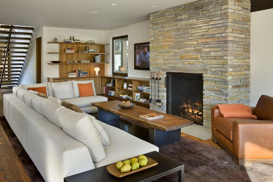 pictures of living rooms with stone fireplaces flower decoration for room stacked fireplace designs and the decors around them