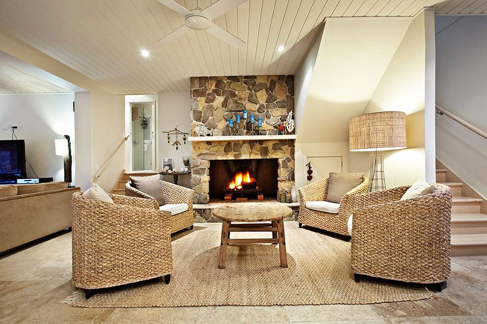 living room decorating ideas with stone fireplace window curtain designs 2016 stacked and the decors around them rustic ambience a
