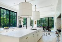 Beautiful Designs Framed By Black Window Trims