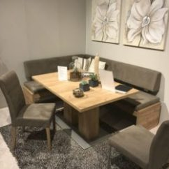 Kitchen Table With Bench And Chairs Sears Cabinets Versatile Dining Configurations Seating A Can Also Be More Practical Than Set Of If Let S Say You Have An Oval Decide To Complement It Curved Seat