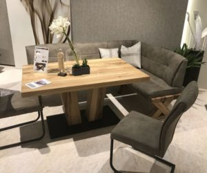 corner living room table small with fireplace ideas versatile dining configurations bench seating a can also be more practical than set of chairs if let s say you have an oval and decide to complement it curved seat