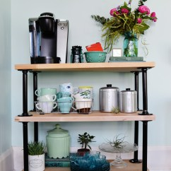 Kitchen Coffee Cart Islands Cheap A Few Projects You Should Try If 39re Into Pipe Furniture