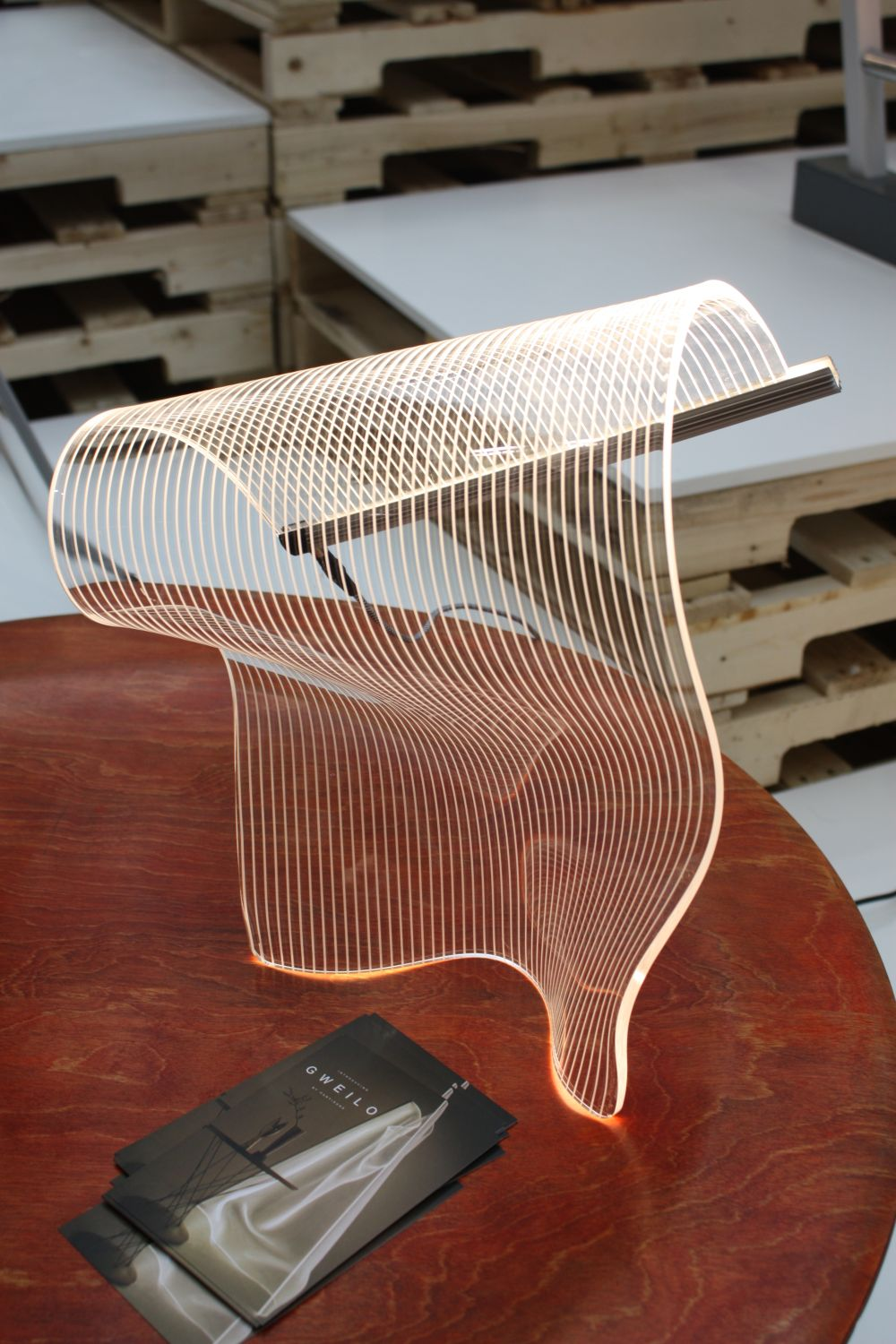 Acrylic Sheets Transform Light Into An Architectural Sculpture