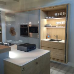Kitchen Sliding Shelves Tables And Chairs For Small Spaces Behind Closed Doors - The Secrets Of A Modern