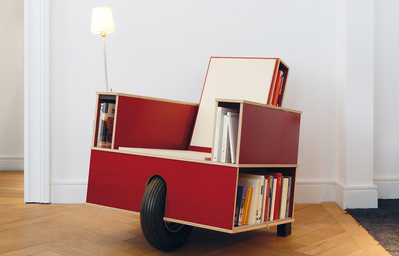 13 Chairs With Builtin Storage For Your Favorite Books