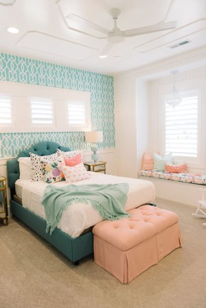 bedroom teenage teen homedit bedrooms rooms teens decor designs bed colors wall pretty turquoise young idea decorating furniture tips pre