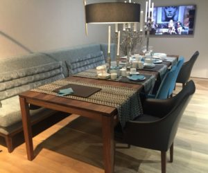 benches for kitchen table chimney how a with bench seating can totally complete your home versatile dining configurations