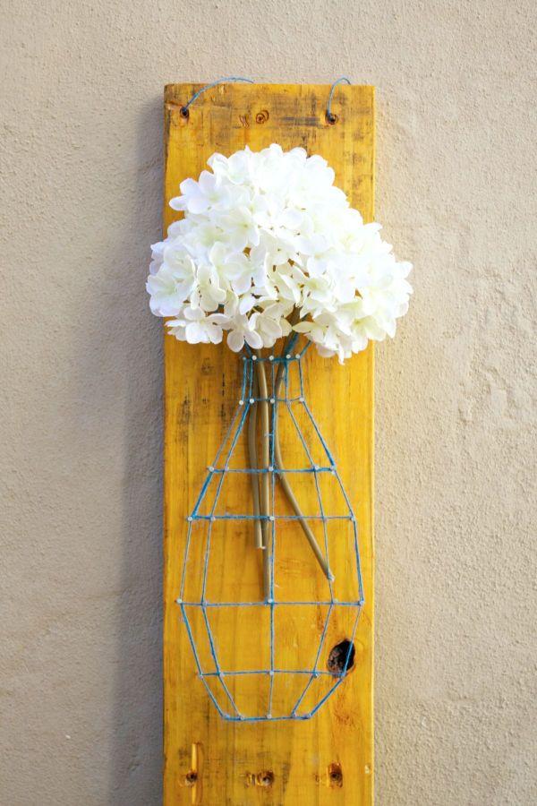 Pallet String Art Sign Diy
