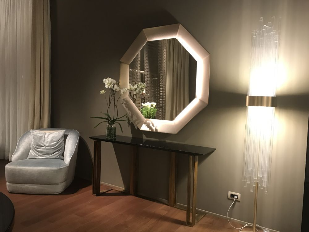 the entryway mirror the